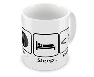 Humor Gang Eat Sleep Code Repeat