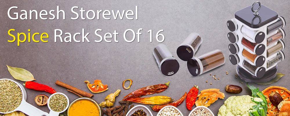 Spice Rack Set of 16